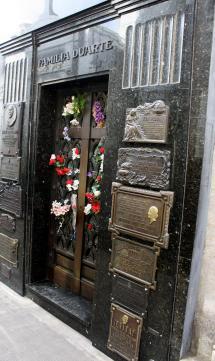 Evita's family crypt