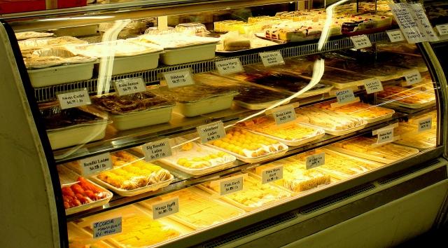 Bakery case, Taj Mahal Imports, Richardson, TX