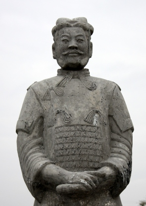 Chinatown statue, Richardson, TX
