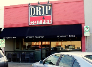 Drip coffeehouse, Dallas