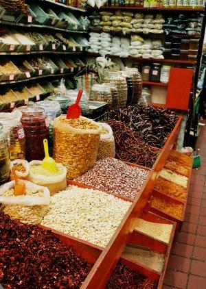 Spice merchant, Mercado Libertad, Guadalajara