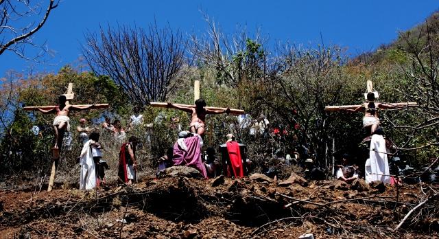 Ajijic Passion play 2012 45