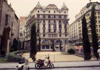 Street scene, Barcelona, Spain