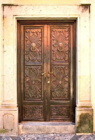 Ajijic door