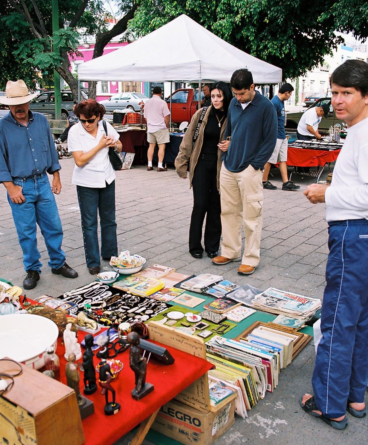 Guadalajara's Antique Market
