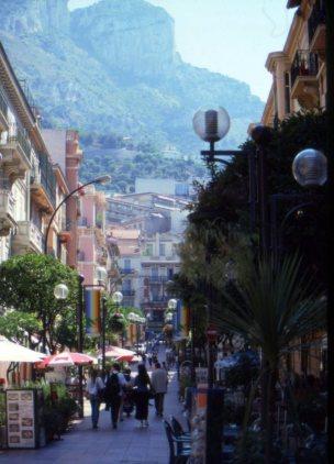 Shopping district, Monte Carlo, Monaco