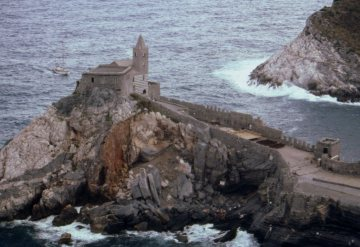 Church of St. Peter, Porto Venere, Italy