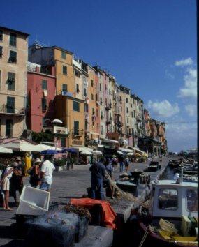 Quay at Porto Venere, Italy