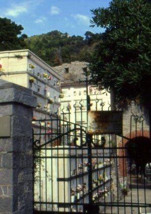 Cemetery, Porto Venere, Italy