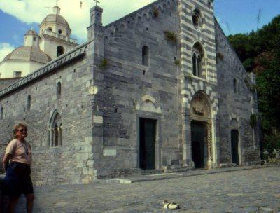 Church of St. Peter, Porto Venere, Italy