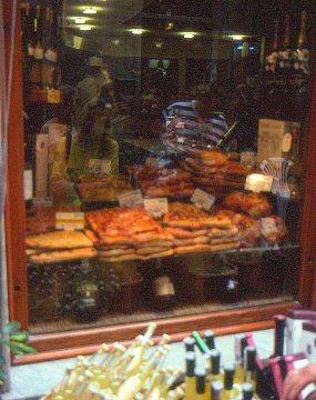 Bakery window, Porto Venere, Italy