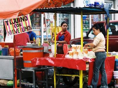 Tejuino vendor, Santa Teresita market, Guadalajara
