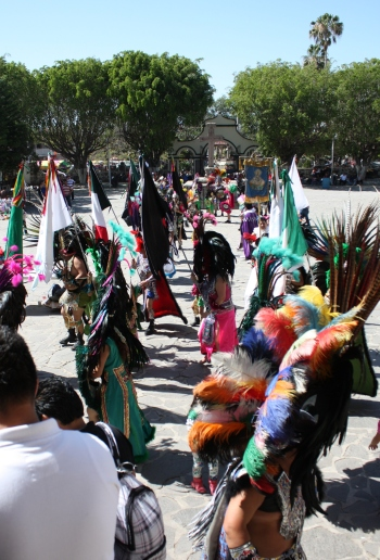 Cajititlan Aztec ceremony 2012-02-02 01