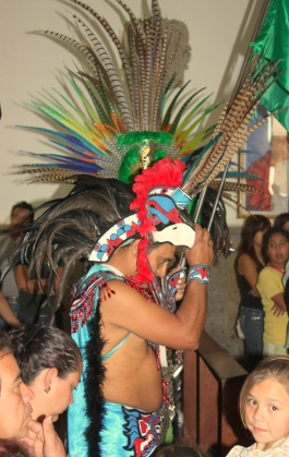 Cajititlan Aztec ceremony 2012-02-02 08