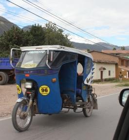 10 Motorcyle taxi near Urubamba