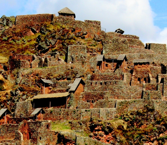 Inca ruins at Pisac, Peru