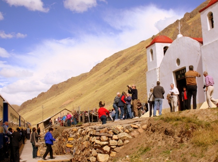 Church at La Raya, Peru