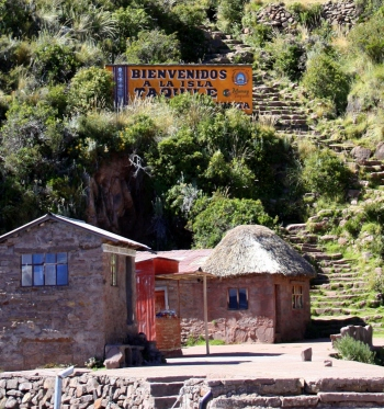 One of Taquile's two points of entry