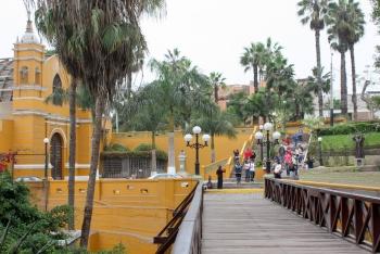 Bajada de los Baños, Barranco, Lima, Peru