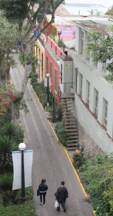 Bajada de los Baños, Barranco, Lima