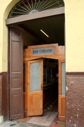 Bar Cordano is one of many neightborhood bistros in Lima's Centro Historio