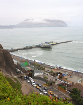 Lima ocean view facing south