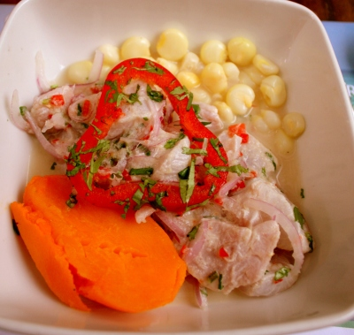 Ceviceh at Embarcadero 41, Lima, Peru