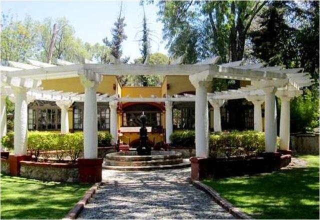 Gardens, Museo Ex-Hacienda San Gabriel Barrera, Guanajuato, Mexico