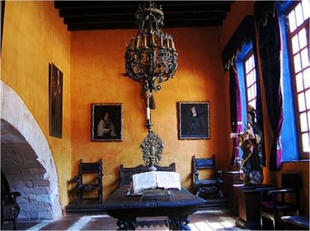 Main house Museo Ex-Hacienda San Gabriel Barrera, Guanajuato, Mexico
