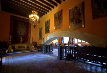 Hacienda offices, Museo Ex-Hacienda San Gabriel Barrera, Guanajuato, Mexico