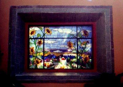 Main house window, Museo Ex-Hacienda San Gabriel Barrera, Guanajuato, Mexico