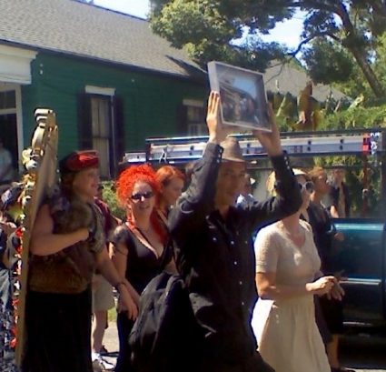 Funeral procession, New Orleans
