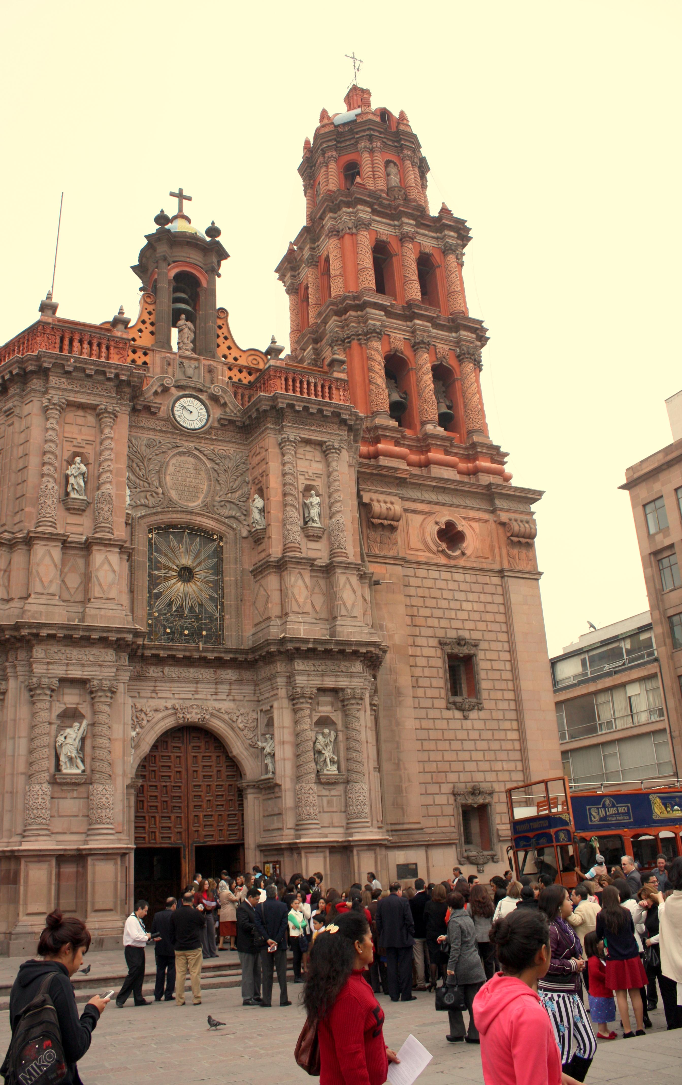 1fbe17be7 Catedral Potosina, Plaza de Armas, San Luis Potosí, Mexico.