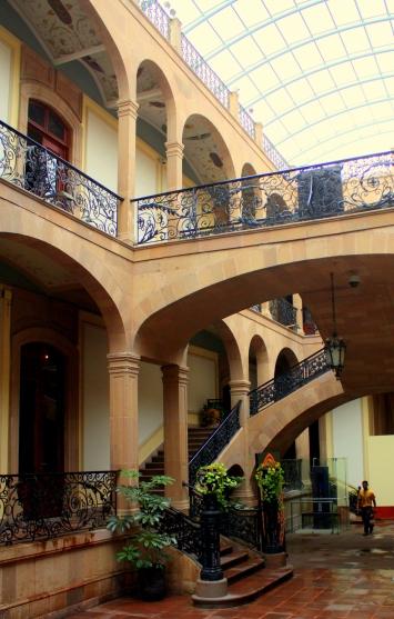 Marti Palace interior, San Luis Potosí, Mexico
