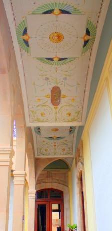 Marti Palace ceiling detail, San Luis Potosí, Mexico