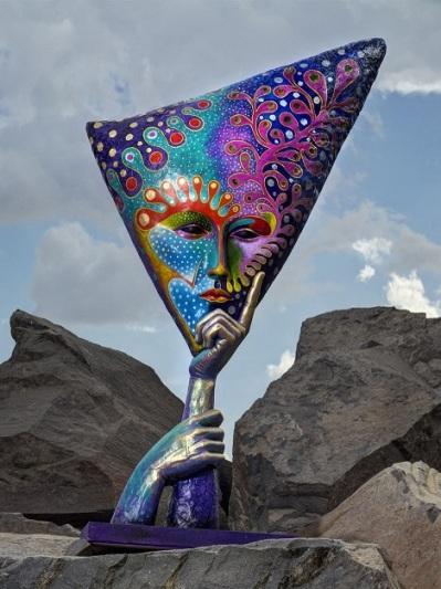 Work of Guadalajara artist Sergio Bustamante
