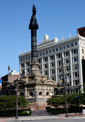 Soldiers' & Sailors' Monument, Public Square, Cleveland, OH