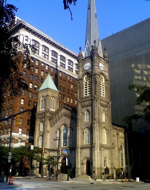 Old Stone Church, Public Square, Cleveland