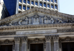 Cleveland Trust Building facade detail