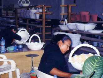 Ceramics artisans, Dolores Hidalgo