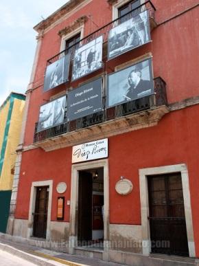 Exterior, Casa Diego Rivera, Guanajuato