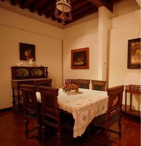 Dining room, Casa Diego Rivera, Guanajuato