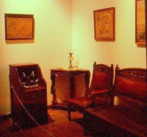 Salon, Casa Diego Rivera, Guanajuato