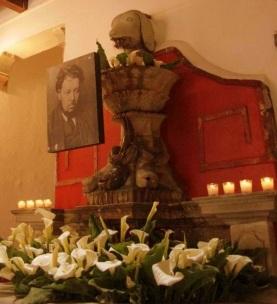 Memorial, Casa Diego Rivera, Guanajuato