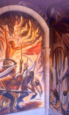 Murals, Alhondigas de Granaditas, Guanajuato, Mexico