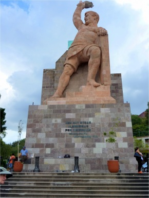 Statue of El Pípila, Guanajuato, Mexico