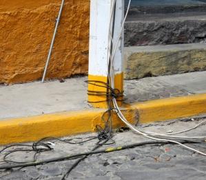 Power grid, Fiesta de San Andres, Ajijic, Jalisco
