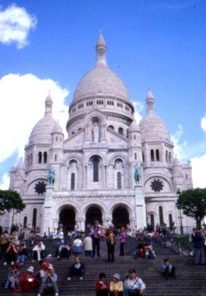 Montmartre musings 001 Sacre Coeur