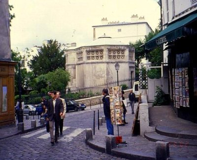 Montmartre musings 006 street scene