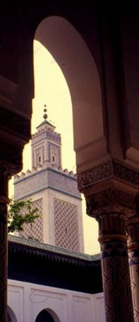 Minaret from the inner courtyard
